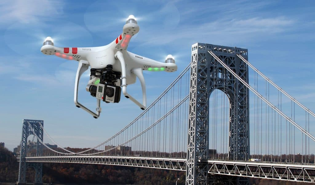 Amazon Patents Police Traffic Stop Drone